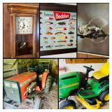**50% OFF** Burleson Estate Sale! Home & Several Buildings on Acreage! Tractor, Aviation & More!