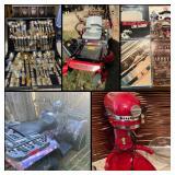 Incredible Arlington Estate Sale! 4 Wheeler, Zero Turn, Leather, Outdoor, Collectibles & More!