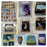 Incredible Sports Card & Memorabilia Auction! BIDDING IS LIVE!