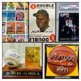 BIDDING ENDS TODAY!  Sports Card & Memorabilia Auction by DFW Estate Liquidators