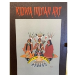 Kidwa Indian Art