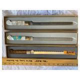 Abalone knives