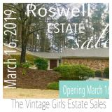 Roswell Estate Sale in Roswell Country Club, March 16, 2019
