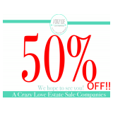 50% OFF Saturday! Johns Creek Estate Sale of Interior Designer, Nov 8-9, 2019