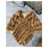 Antique Fur Shawl