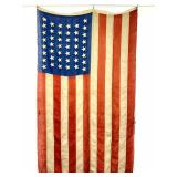 Antique 44 Star American Flag