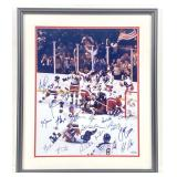 "1980 USA Olympic Hockey ""Miracle on Ice"" Team Signed Photograph"