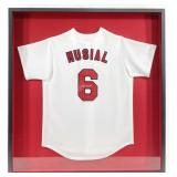 Stan The Man Musial Signed St. Louis Cardinals Jersey