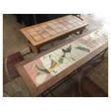 Mid-Century Modern Furniture Tile Tables