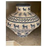 Native American Tribal Basket
