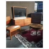 Mid Century Furniture, Rugs, Mirrors