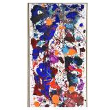 Lot 2106 SAM FRANCIS (Californian 1923 - 1994) Untitled, 1983 Acrylic on paper laid on canvas. $150,000 / 200,000