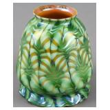AUCTION .......Art Glass, Tiffany Studios, LCT, Quezal + Pickle Casters