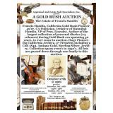 AUCTION !! Gold Rush !! 49'er, Pioneer, Assemblyman.....Francis Hamlin