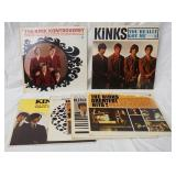 1001LOT OF SIX MONO THE KINKS ALBUMS; KINK-SIZE, KINKDOM, KINDA KINKS, KONTROVERSY, THE KINKS GREAT