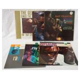 1016LOT OF SIX RAY CHARLES ALBUMS, THE GENIUS SINGS THE BLUES, THE GREAT RAY CHARLES, GENIUS + SOUL