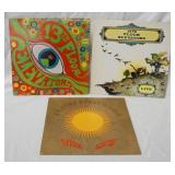 1019LOT OF THREE THE 13TH FLOOR ELEVATORS ALBUMS; THE PSYCHEDELIC SOUNDS OF, LIVE, EASTER EVERYWHER