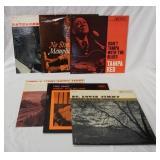1023LOT OF SIX PRESTIGE BLUES ALBUMS; REVEREND GARY DAVIS A LITTLE MORE FAITH, NO STRAIN MEMPHIS SL