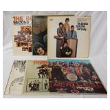1025LOT OF SIX BEATLES MONO ALBUMS; THE BEATLES SECOND ALBUM ,RUBBER SOUL, YESTERDAY & TODAY, SGT P