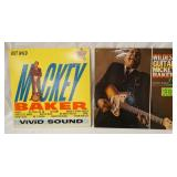 1028LOT OF TWO MICKEY BAKER ALBUMS; THE WILDEST GUITAR & BUT WILD
