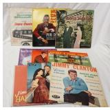 1031LOT OF NINE RECORDS ON NEW ORLEANS ACE LABEL; JIMMY CLANTON TEENAGE MILLIONAIRE, HUEY SMITH & H