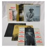 1033LOT OF SIX PRESTIGE BLUESVILLE ALBUMS; FURRY LEWIS BACK ON MY FEET AGAIN & DONE CHANGED MY MIND