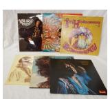 1037LOT OF SIX JIMI HENDRIX & JIMI HENDRIX EXPERIENCE ALBUMS; AXIS: BOLD AS LOVE, THE CRY OF LOVE,