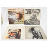 1040LOT OF FOUR BOB DYLAN STEREO ALBUMS ALL ARE ON COLUMBIA RECORD LABEL; BLONDE ON BLONDE (GATE FO