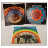 1044LOT OF THREE PSYCHEDELIC ALBUMS; SALVATION (IS GATEFOLD) THORINSHEILD & BOLD