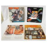 1046LOT OF FOUR THE WHO ALBUMS; SELL OUT (COMES WITH PSYCHEDELIC POSTER) MY GENERATION, A QUICK ONE
