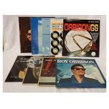 1056LOT OF NINE ROY ORBISON ALBUMS; EARLY ORBISON, THE ORBISON WAY, BIG O, ORBISONGS, GREATEST HITS
