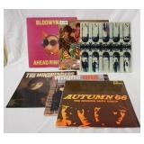 1057LOT OF SIX BRITISH IMORT ROCK ALBUMS; BLODWYN PIG AHEAD RINGS OUT (GATEFOLD) THE HOLLIES EVOLUT