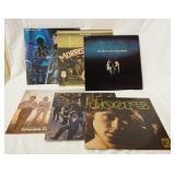 1061LOT OF 6 THE DOORS ALBUMS; ABSOLUTLEY LIVE (GATEFOLD, DOUPLE LP) MORRISON HOTEL (GATEFOLD) THE