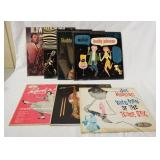 1063LOT OF SEVEN HONKER & SHOUTER ALBUMS; BUDDY JOHNSON WAILS & WALKIN