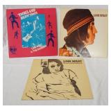 1064LINK WRAY & THE RAYMEN, LOT OF THREE ABLUMS; THERE