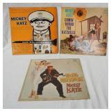 1066LOT OF THREE MICKEY KATZ ALBUMS, MICKEY KATZ & ORCHESTRA, COMIN