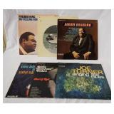 1069LOT OF SIX BLUES ALBUMS; FREDDIE KING MY FEELING FOR THE BLUES (PROMOTIONAL COPY) BUDDY & THE J