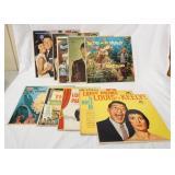 1071LOT OF 10 LOUIS PRIMA & KEELY SMITH ALBUMS; LAS VEGAS (2 COPIES) , LAKE TAHOE PRIMA STYLE, THE