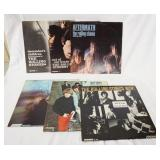 1075THE ROLLING STONES, LOT OF SIX MONO RECORDS LONDON RECORD LABEL;  DECEMBERS CHILDREN, BIG HITS