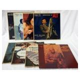 1085LOT OF EIGHT JAZZ ALBUMS; THE HARRIS TOUCH, EDDIE CHMABILEE DOODLIN