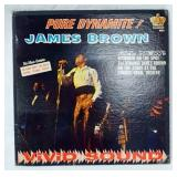 1087AUTOGRAPHED JAMES BROWN  PURE DYNAMITE! ALBUM GATEFOLD IS SIGNED ON INSIDE COVER KING RECORDS 8