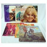 1095LOT OF SEVEN ALBUMS; PENNY NICHOLS PENNY
