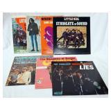 1096LOT OF SEVEN AMERICAN GARAGE ALBUMS; LITTLE BIT O