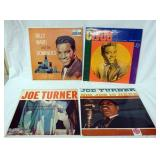 1104LOT OF FOUR R & B ALBUMS; CLYDE, BILLY WARD 7 THE DOMINOS, JOE TURNER BIG JOE IS HERE & * AND T