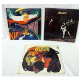 1108LOT OF THREE ALBUMS; NIRVANA THE STORY OF SIMON SIMOPATH, MOLOCH SELF TITLED & THE OTHER HALF S