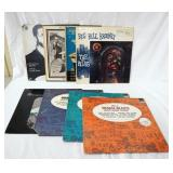 1110LOT OF EIGHT BLUES ALBUMS; LEGENDARY MASTER SERIES URBAN BLUES VOL. 2 RHYTHM BLUE VOL.2  & RURA