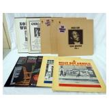 1118LOT OF TEN BLUES ALBUMS; BLUES CLASSICS BY SONNY BOW WILLIAMSON, CHICAGO BLUES THE EARLY 1950S,