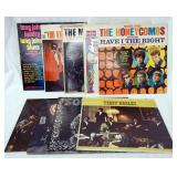 1124LOT OF NINE ROCK ALBUMS; BIG BROTHER & THE HOLDING COMPANY SELF TITLED, THE MERSEY BEATS THE NE