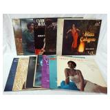 1126LOT OF 13 RECORDS FEMALE VOCALISTS; MAYA ANGELOU MISS CALYPSO, THE MODERN SOUND OF BETTY CARTER