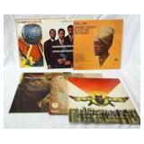 1127LOT OF 6 JAZZ ALBUMS; CU-POP! ART BLAKEY AND HIS JAZZ MESSENGERS, THE MODERN JAZZ QUARTET BLUES
